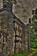 Grave Photo Originals - Battey Mausoleum 1891 by Jason Blalock
