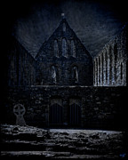 Sussex Digital Art Prints - Battle Abbey Ruins Print by Chris Lord