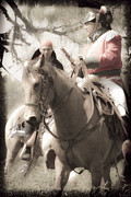 Re-enactments Framed Prints - Battle By Horseback2 Framed Print by Kim Henderson
