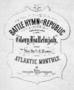 Hymn Posters - Battle Hymn Of Republic Poster by Granger