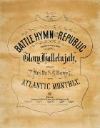 Hymn Posters - Battle Hymn Of The Republic Poster by Granger