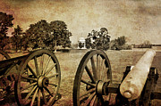 Antietam Photos - Battle Line at Antietam by Mick Burkey