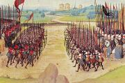Manuscript Illumination Prints - Battle Of Agincourt, 1415 Print by Granger