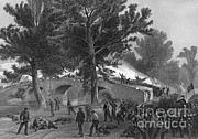 Ambrose Burnside Prints - Battle Of Antietam, 1862 Print by Photo Researchers