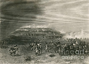 Bunker Hill Prints - Battle Of Bunker Hill, 1775 Print by Photo Researchers