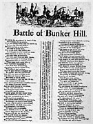 Bunker Hill Prints - Battle Of Bunker Hill Print by Granger