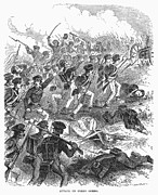 Battle Of Cerro Gordo Print by Granger
