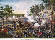 Confederate Army Framed Prints - Battle Of Champion Hill Framed Print by Granger