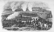 U.s Army Prints - Battle Of Chapultepec Print by Granger