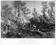 1794 Prints - Battle Of Fallen Timbers Print by Granger