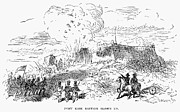 U.s. Army Prints - Battle Of Fort Erie, 1814 Print by Granger