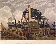 Rebellion Framed Prints - Battle Of Fort Moultrie Framed Print by Granger