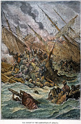 Galley Framed Prints - Battle Of Lepanto, 1571 Framed Print by Granger