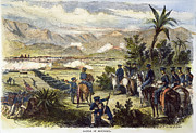 Latin American Prints - Battle Of Monterrey, 1846 Print by Granger