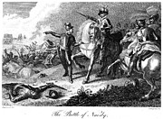 English Civil War Prints - Battle Of Naseby, 1645 Print by Granger