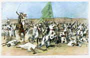 Turn Of The Century Drawings - Battle Of Omdurman 1898 by Granger