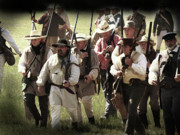 Re-enactment Posters - Battle of San Jacinto Poster by Kim Henderson