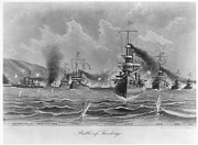 Santiago Cuba Prints - Battle Of Santiago, 1898 Print by Granger