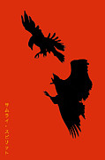 National Symbol Posters - Battle of the Eagles Poster by William Jobes
