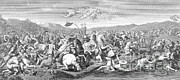 Bier Prints - Battle Of The Milvian Bridge, 312 Ad Print by Photo Researchers