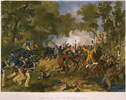 U.s Army Framed Prints - Battle Of Tippecanoe, 1811 Framed Print by Granger