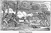 U.s Army Framed Prints - Battle Of Tippecanoe Framed Print by Granger