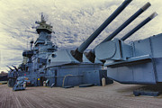 Bb 55 Prints - Battleship Print by Bill Linhares