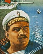 Russian Revolution Framed Prints - Battleship Potemkin Framed Print by Nomad Art And  Design