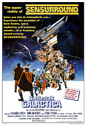 Jbp10jy16 Posters - Battlestar Galactica, Theatrical Poster by Everett