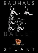 Bauhaus Ballet Black Print by Charles Stuart