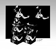 Bauhause Ballet Print by Charles Stuart