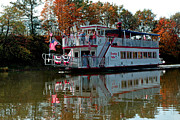 Evening Scenes Prints - Bavarian Belle Riverboat Print by LeeAnn McLaneGoetz McLaneGoetzStudioLLCcom