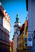 City Streets Framed Prints - Bavarian Corridor  Framed Print by Anthony Citro