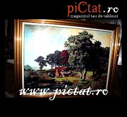 Decorativ Paintings - Bavarian Landscape  www.pictat.ro by Preda Bianca