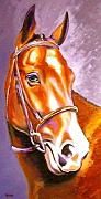 Large Format Horse Print Art - Bay Champion by Susan A Becker