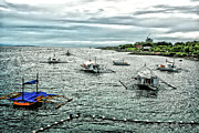 Bay Of Mactan Island Philippines Print by Anita Antonia Nowack