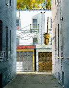 Print Originals - Bay Ridge Alley by Tom Hedderich
