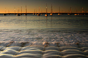 Noel Elliot - Bay With Yachts