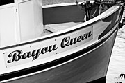 Shrimp Boat Art - Bayou Queen by Scott Pellegrin