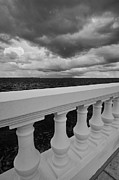 Bayshore Boulevard Prints - Bayshore Balustrade 3 Print by William  Carson