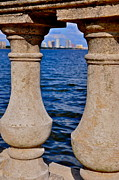 Bayshore Boulevard Prints - Bayshore Boulevard Balustrade Print by William  Carson