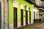 Old San Juan Photo Prints - Bazar de Arte Print by Timothy Johnson