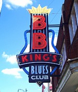 Bb King's Club Print by Kathleen Hinson