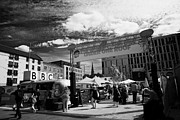 Bbc Prints - Bbc Edinburgh Fringe Festival Village Area Potterrow Print by Joe Fox