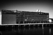 Bbc Prints - bbc scotland alba television studios bbc pacific quay river clyde Glasgow Scotland UK Print by Joe Fox