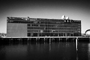 Bbc Framed Prints - bbc scotland riverside studios Glasgow Scotland UK Framed Print by Joe Fox
