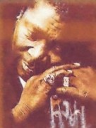 Legend  Pastels - B.b.king by Mandy Thomas