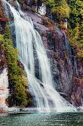 B.c. Waterfalls  Posters - B.C. WaterFall Poster by David  Naman