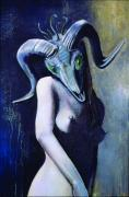 Figural Pastels Originals - Be Careful What You Wish For by Paul Autodore