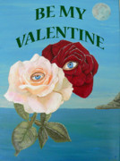 Greetings Card - Be My Valentine by Eric Kempson